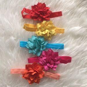 Set of  3-Gorgeous flower headband ❤️